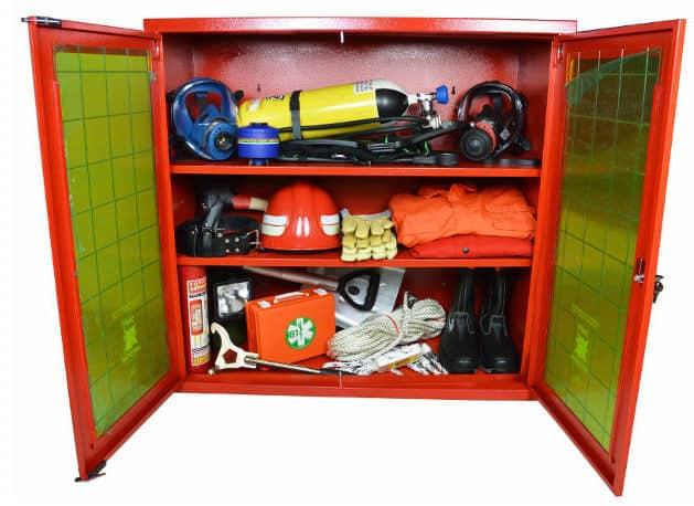 armadi e attrezzature antincendio