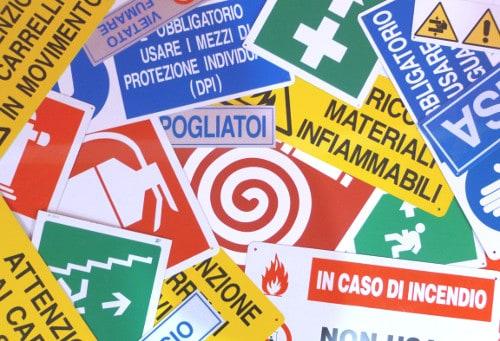Vendita cartelli Arezzo