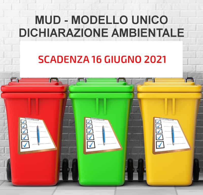 MUD - Modello Unico Dichiarazione Ambientale - Arezzo