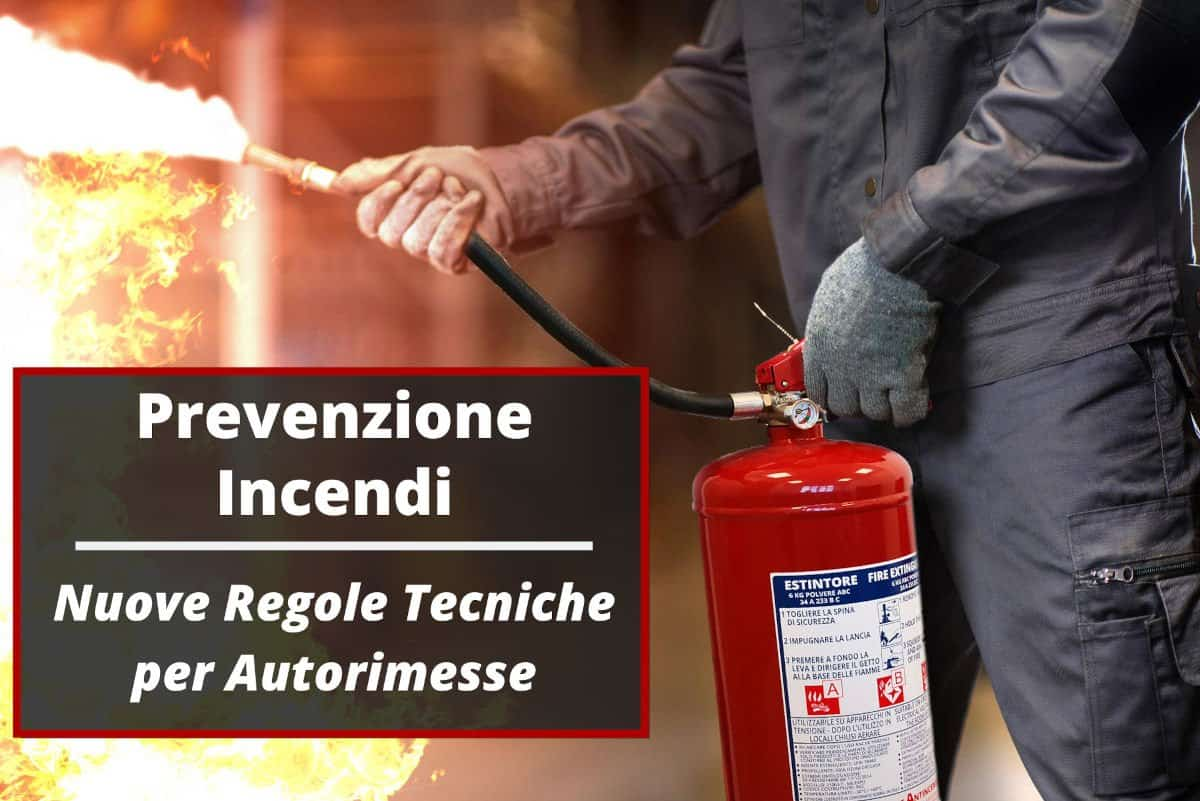 Prevenzione Incendi Autorimesse